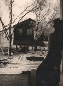 תמונה של צריף חדר האוכל הישן 1940