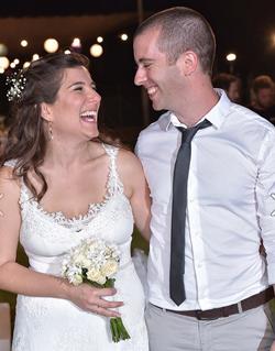 תמונה של דפנה ואהוד חתונה