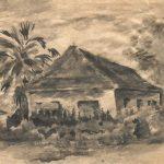 תמונה של חדר האוכל הישן - ציור מרדכי אמיתי