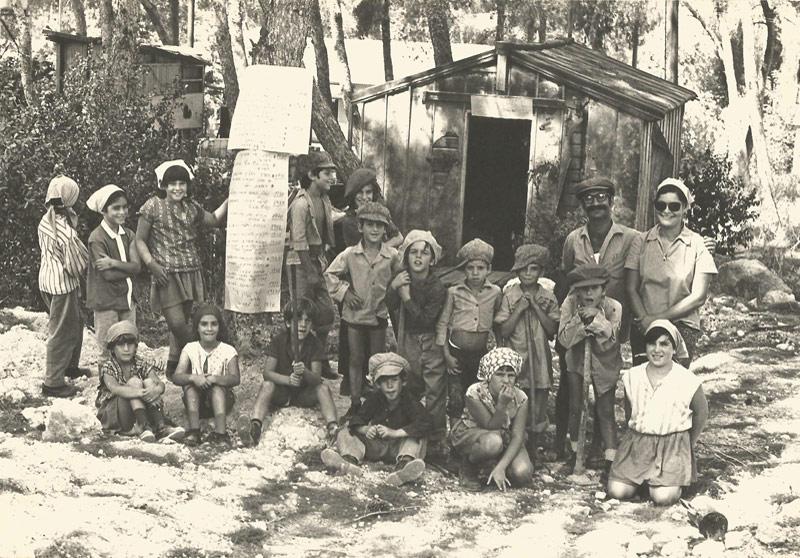 """תמונה של ילדי קבוצת """"שקד"""""""