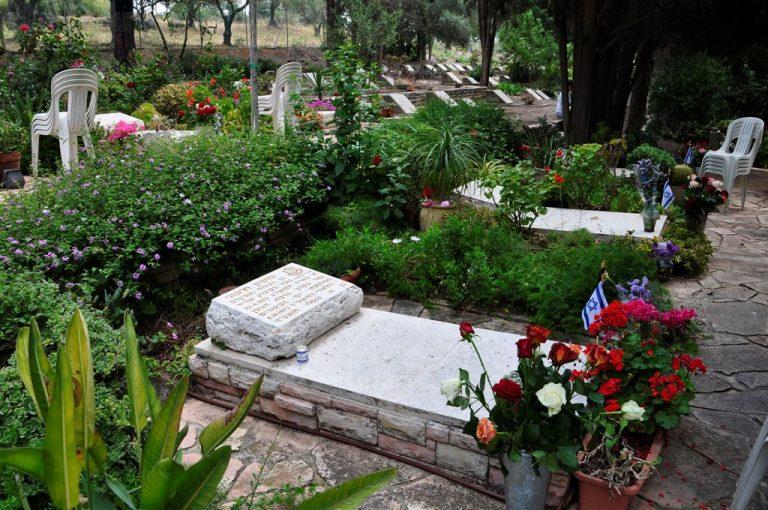 תמונה של בית קברות