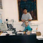 תמונה של חברי שריד במקומות עבודה בשנות התשעים