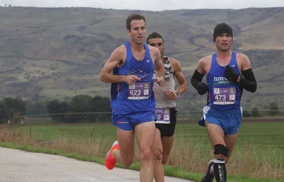 תמונה של אמיר רמון רץ מרתון