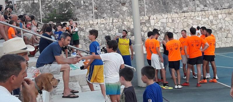 תמונה ממשחק כדורגל שריד מזרע