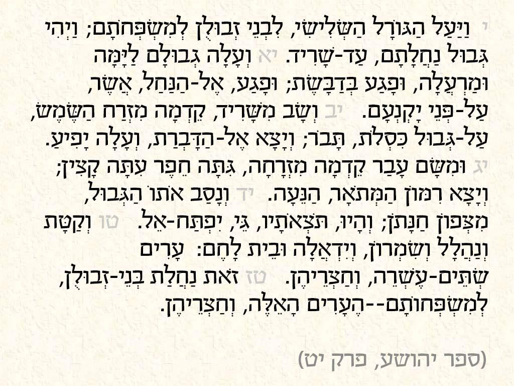 ציטוט מתוך ספר-יהושע,-פרק-יט