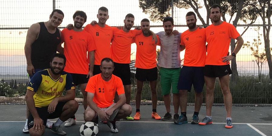 תמונה של קבוצת הכדורגל של שריד