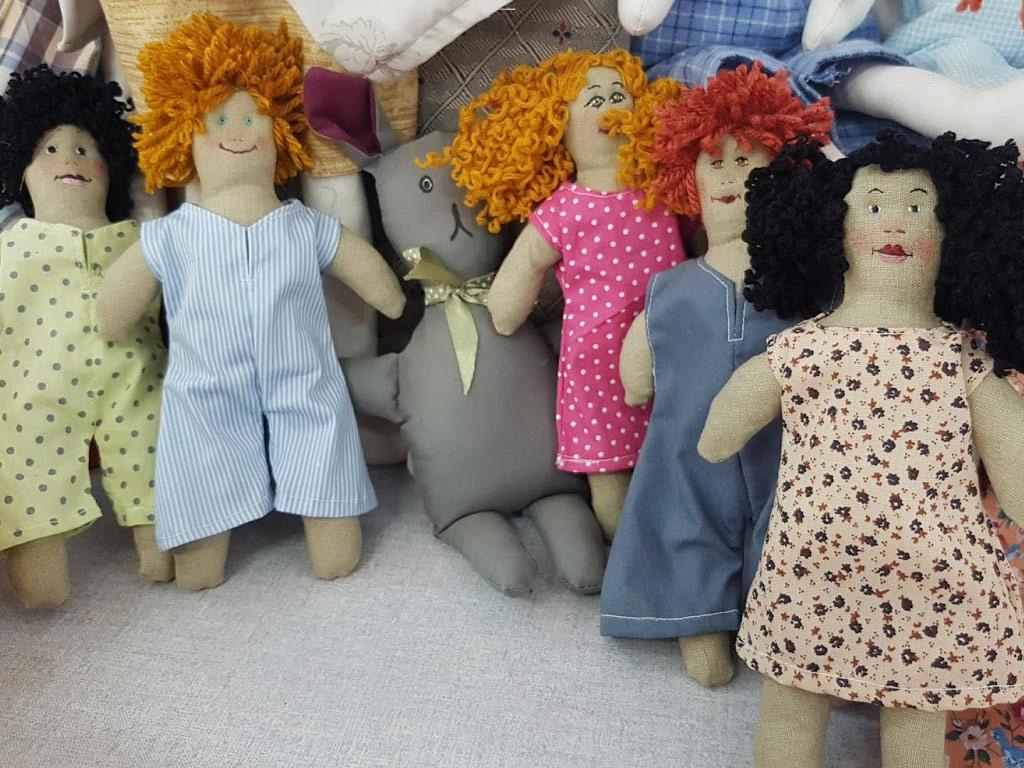 תמונות של בובות עבודת יד בבבובתיק