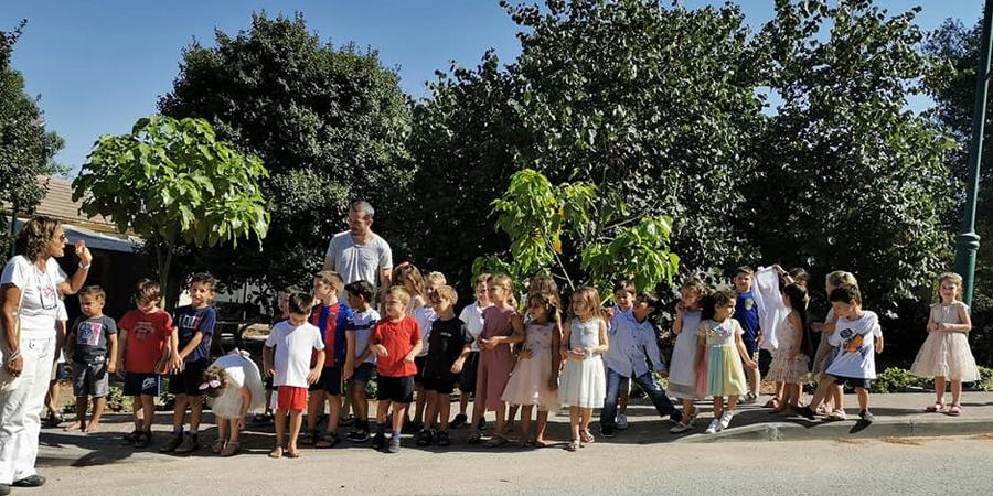 תמונה של ילדי גן אילן מחזור 2019