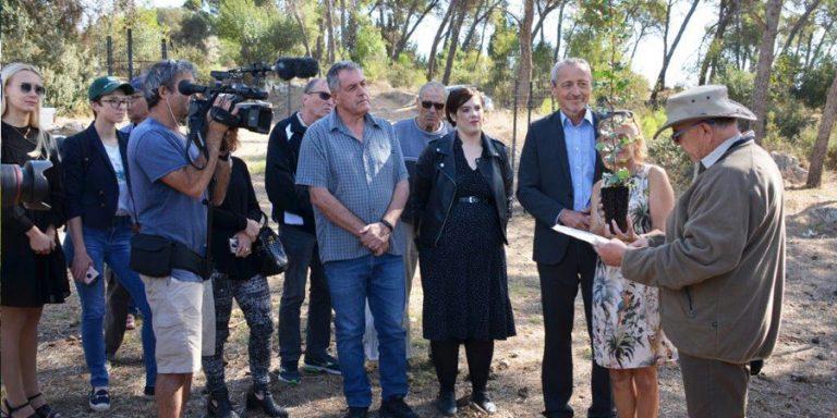 תמונה של ביקור שגריר צ'כיה בשריד