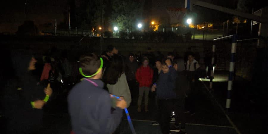 תמוה מתוך פעילות הלילה של השומר הצעיר
