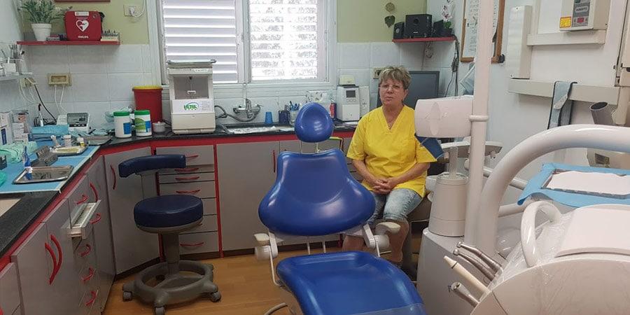 תמונה של הגר ניר במרפאת השיניים