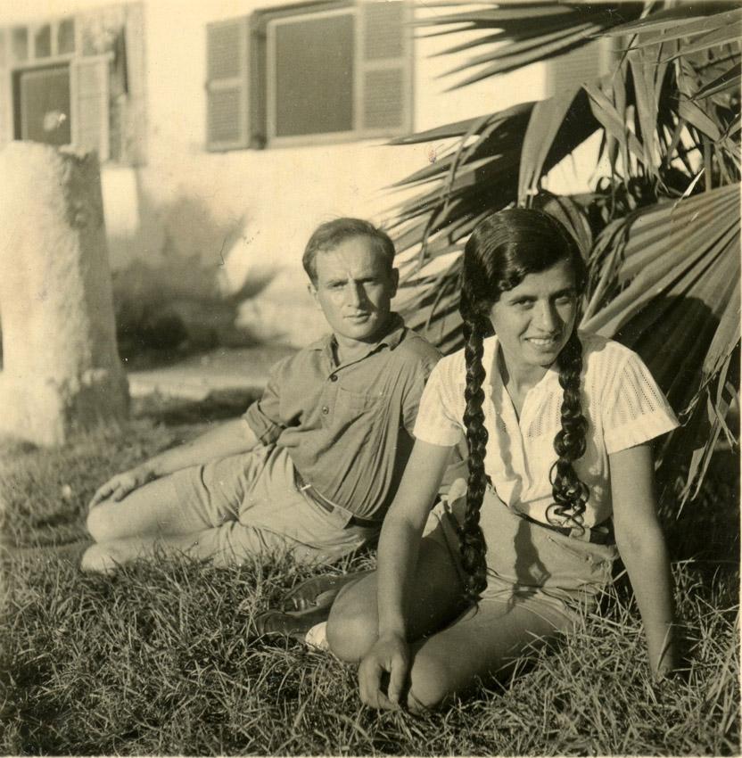 חסיה ויעקב (קוליק) נימרי - 1937