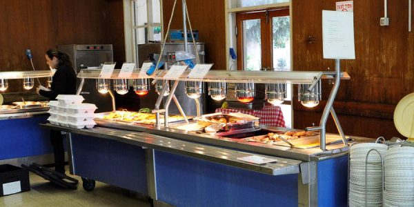 תמונה של חדר האוכל בשריד