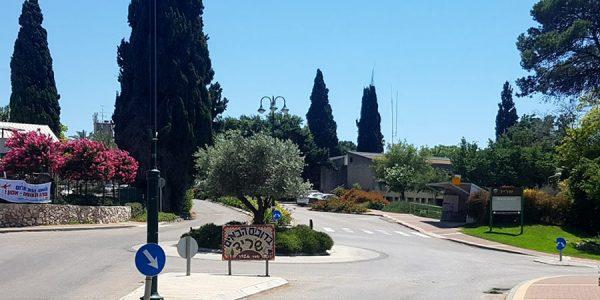תמונה של כיכר הכניסה לשריד