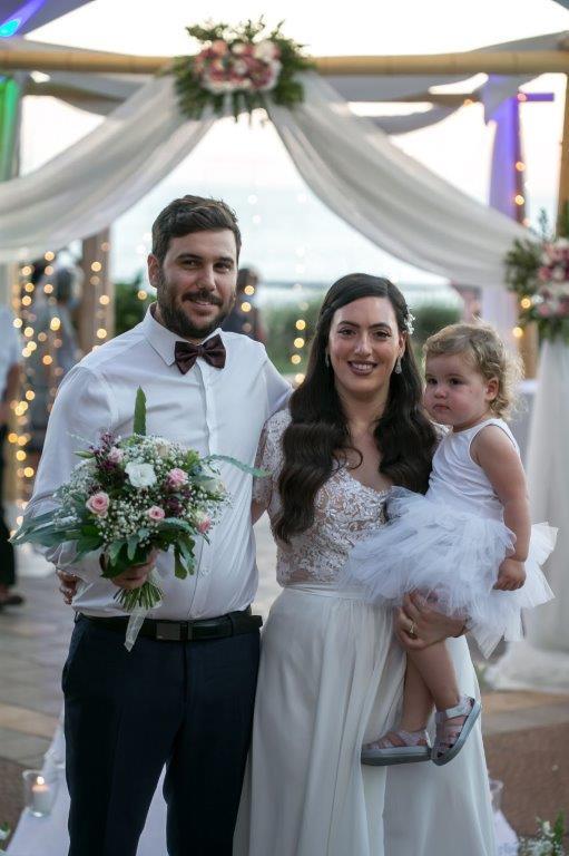 תמונה של רונן זקס בחתונה