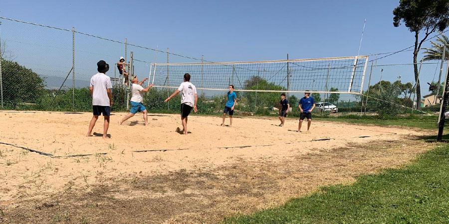 מגרש כדורעף חופים בשריש