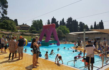 בריכת שחייה שריד – קיץ 2020